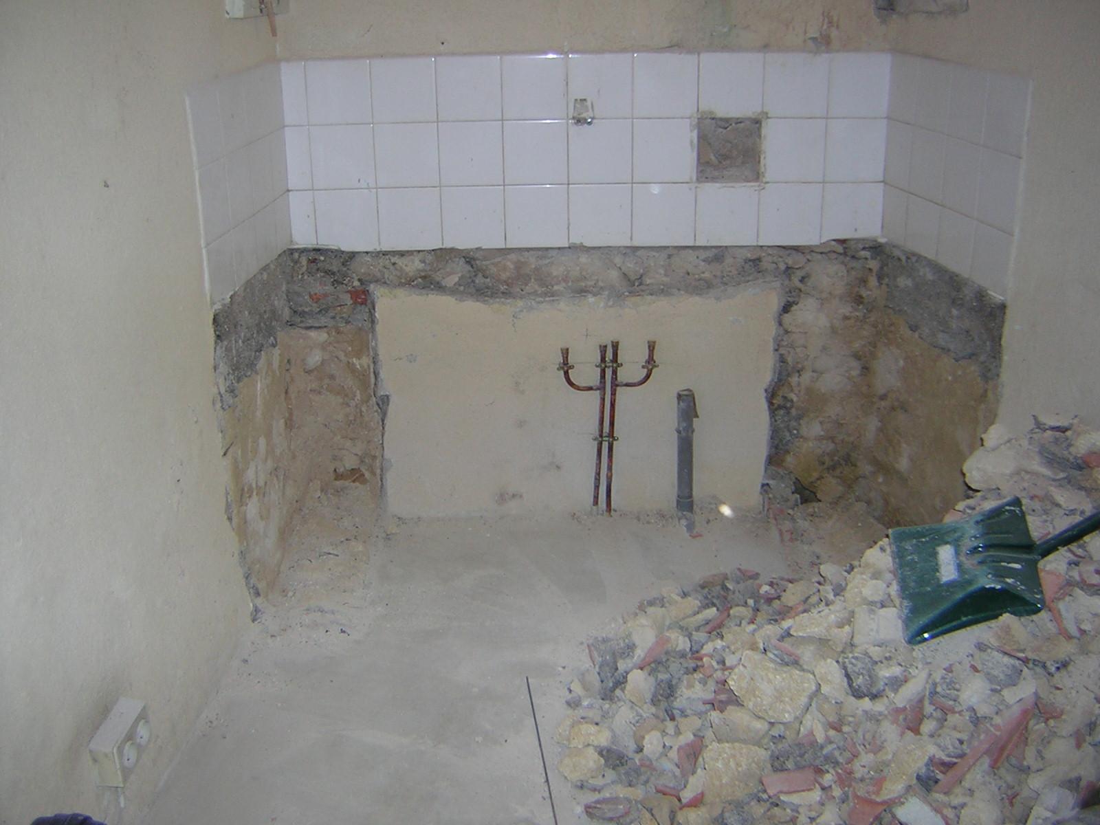 2 eme travaux de la journ e la salle de bain - Travaux salle de bain ...