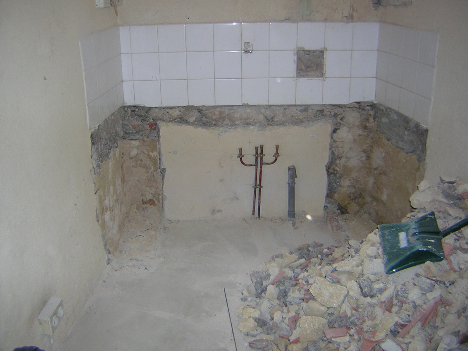 2 eme travaux de la journ e la salle de bain